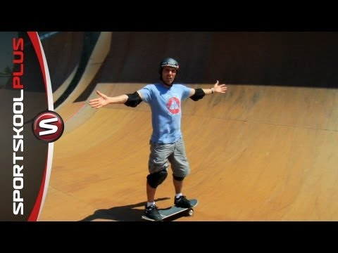 Basics of Vert Ramp Skateboarding with Andy MacDonald