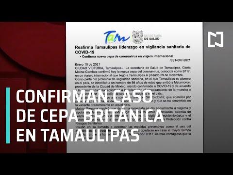 Primer caso de la nueva cepa de coronavirus en México - Las Noticias