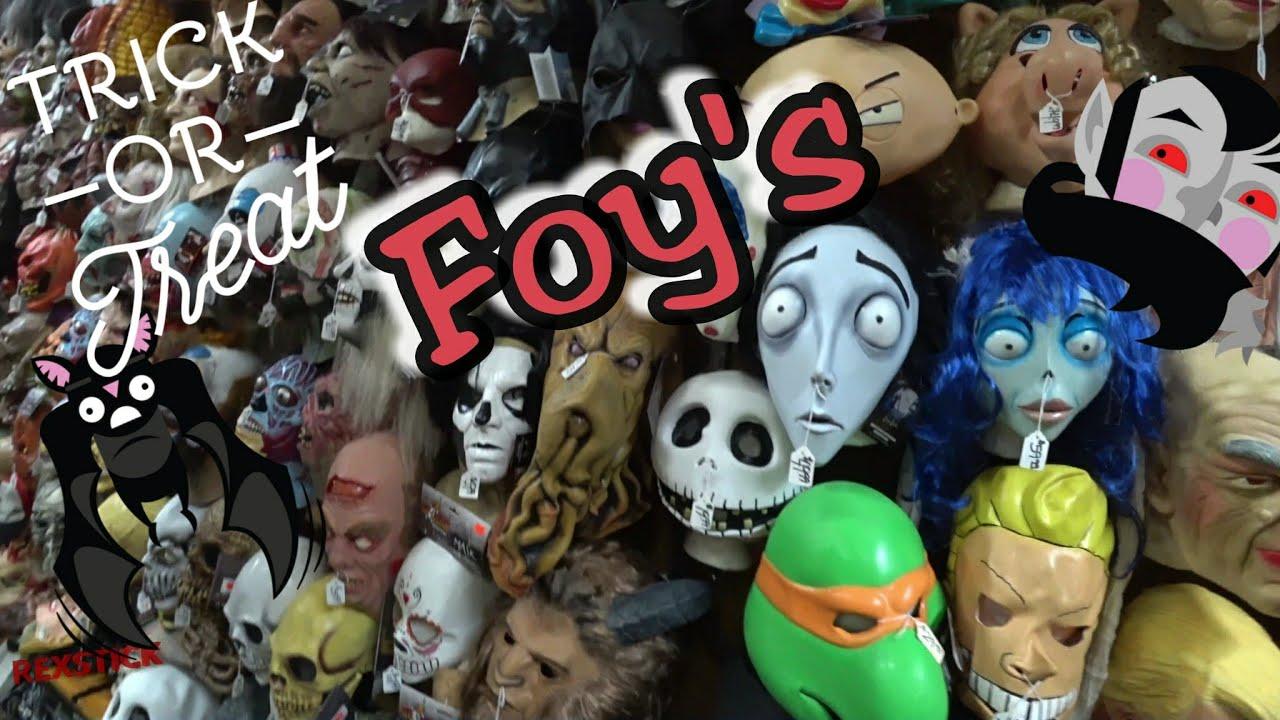 foys halloween store foys costume store 4k rexstick vlog
