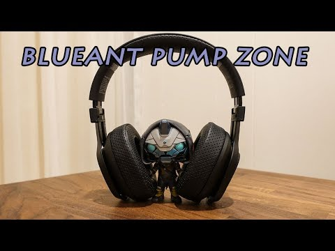 Blueant pump zone wireless headphone unboxing and review!