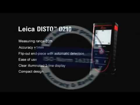 Leica Entfernungsmesser D210 : Leica disto d laser entfernungsmesser shop youtube