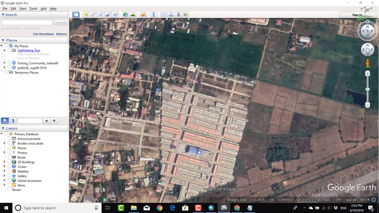How To Add Latest Google Earth Satellite Imagery In Arcgis Youtube