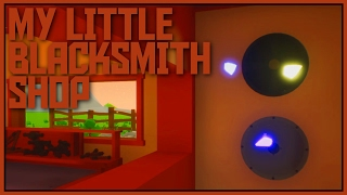 The Mysterious Crystals! - My Little Blacksmith Shop Gameplay [Let's Play My Little Blacksmith Shop]