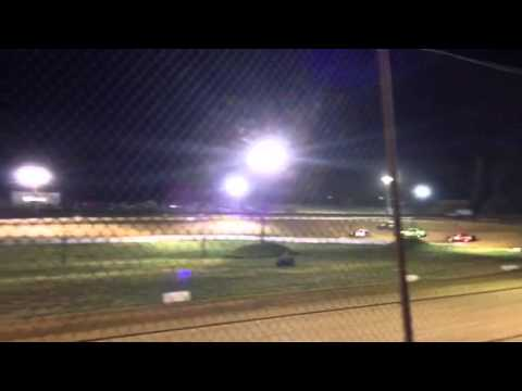 West Siloam Speedway (8/23/14) trackside