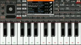 | Petta theme | music | keyboard piano notes | org 2019 |