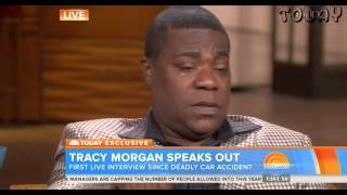 Tracy Morgan Cries In First Interview Since Accident