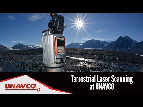Terrestrial Laser Scanning (TLS) at UNAVCO [captioned]