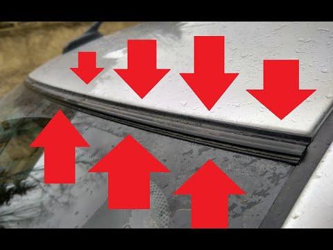 Уплотняем Lada Granta FL двери, лобовое стекло (выступ крыши)
