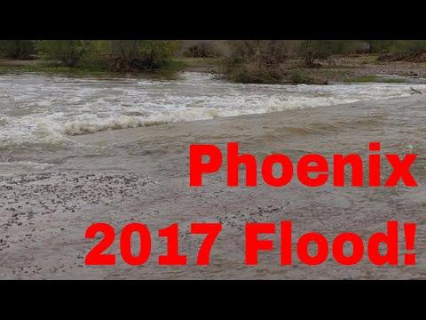 Salt River 2017 Flood Explained