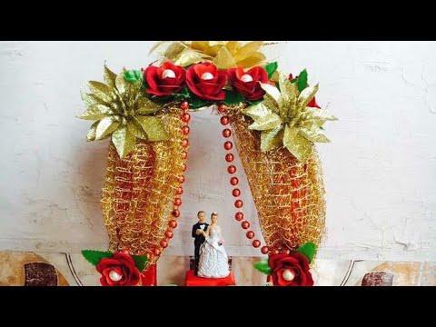 Decorated wedding things / Wedding tray / Gift craft