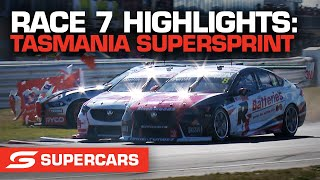 Race 7 Highlights - Beaurepaires Tasmania SuperSprint | Supercars 2021