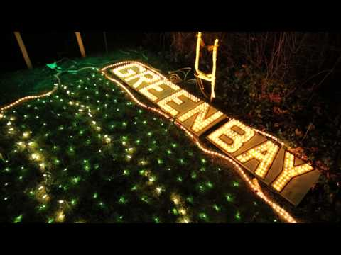 Packers Lambeau Field Christmas Lights