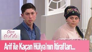 Arif ile kaçan Hülya'nın itirafları... - Esra Erol'da 22 Ocak 2020