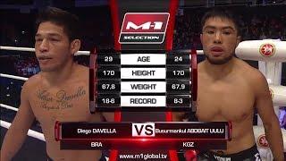 Диего Давелла vs Бусурманкул Абдибаит Уулу, M-1 Challenge 83 & Tatfight 5