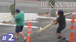 LUMPY BLASTS WIFFLE BALL HOME RUNS! | BENNY NO | WIFFLE BALL SERIES #2
