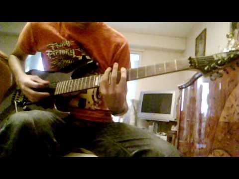 """Hammerfall """"Natural High"""" Guitar Cover By Julien"""