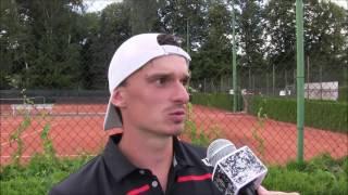 Tomáš Musil po prohře v prvním kole kvalifikace na turnaji Futures v Ústí n. O.