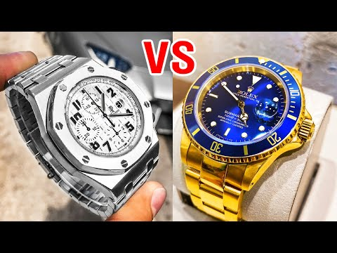 AP vs Rolex - Audemars Piguet Royal Oak Offshore and Rolex Submariner Gold. Which is Better?