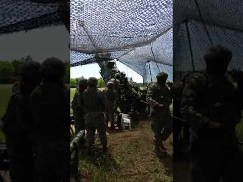 1-129th Field Artillery, Camp Ripley, MN 2017
