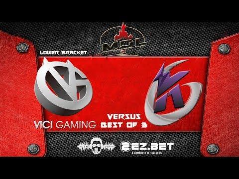 Vici Gaming vs Keen Gaming | MDL Paris Disneyland 2019 | Best of 3 | Lower Bracket