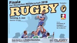 Rugby Bundesliga Finale 2018 in Berlin