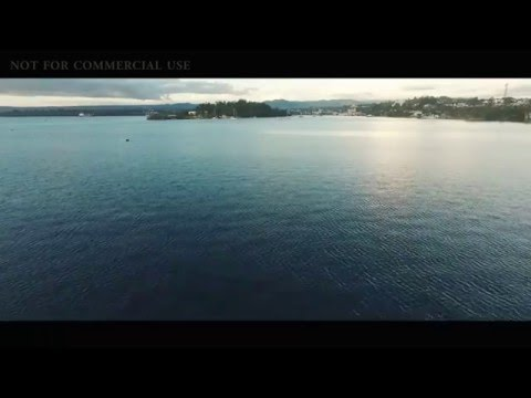 Drone flyover Port Vila Harbour