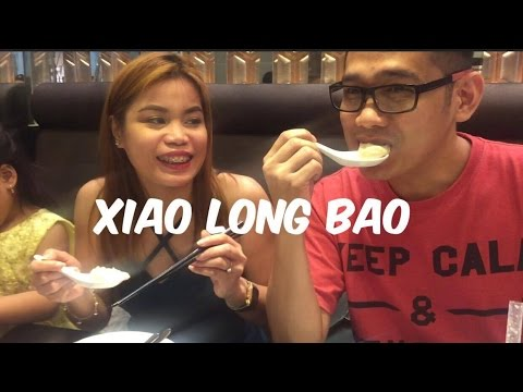 OUR FIRST XIAO LONG BAO EXPERIENCE|  LUGANG CAFE | BELAGIO BREEZE| PLEASE ME |