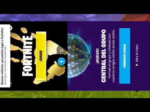 !!!DESCARGAR E INSTALAR FORTNITE NUEVA ACTUALIZACION PARA DISPOSITIVOS NO COMPATIBLES!!!