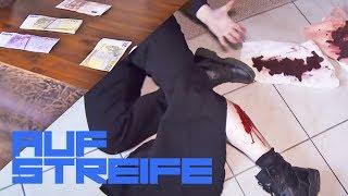 Schussverletzung nach schwerem Banküberfall | Auf Streife | SAT.1 TV