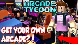 COMMENT À VOTRE ARCADE OWN EN ROBLOX!?! (machines épiques) - Arcade Tycoon
