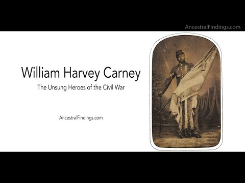 William Harvey Carney   The Unsung Heroes of the Civil War   Ancestral Findings   AF-265