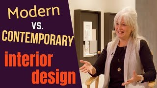 Modern Vs  Contemporary Interior Design: What To Know For Your Next Home