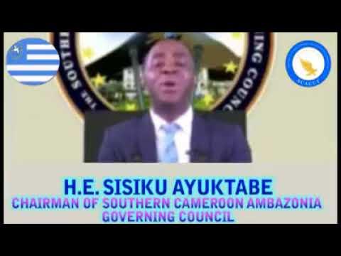 The Ambazonian interim Prime minister address Pressident Paul Biya