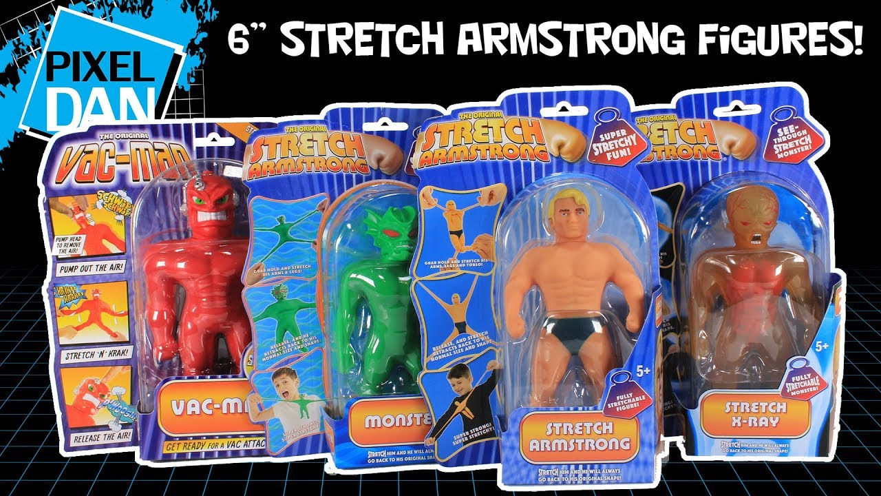 STRETCH ARMSTRONG Action Figure Stretch