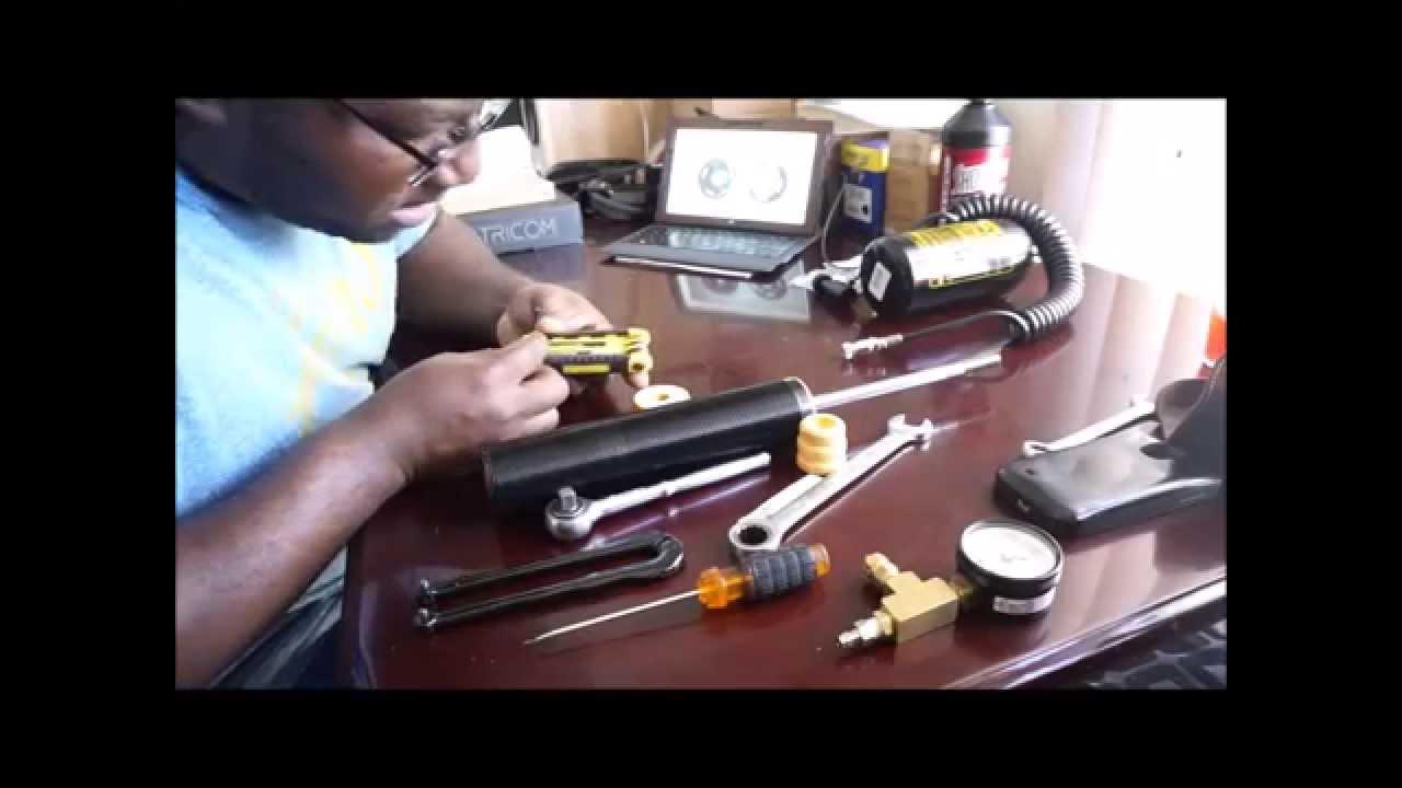 DIY BC Racing BR shock Revalve tutorial - PART 1(Bilstein Internals)
