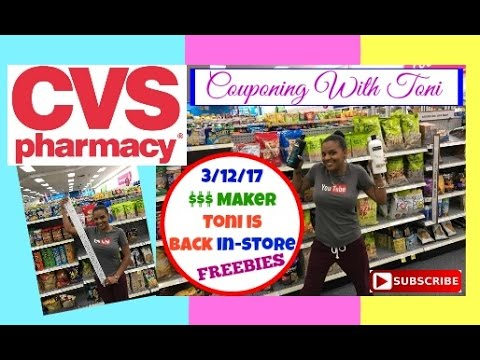 CVS 3/12/2017 In-Store Couponing With Toni ~ WHOO-HOOO | Money Maker Trip