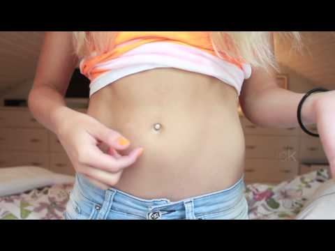 How to make a fake Belly button piercing