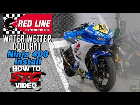 Kawasaki Ninja 400 Coolant Change | Sportbike Track Gear