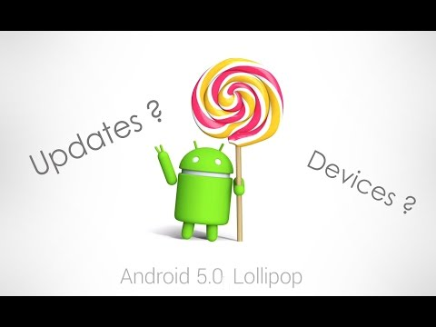 Android Lollipop (5.0) Update ! Devices Getting Them !