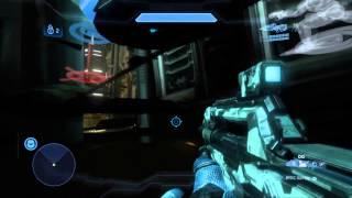 Halo 4 - NEW Glitch - under Wreckage (Crimson map pack)
