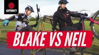 Blake Vs Neil | MTB Trail Skills Presenter Challenge