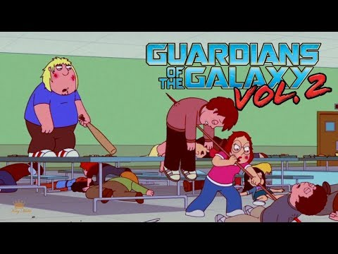 Family Guy (Guardians of The Galaxy Vol. 2 Style)