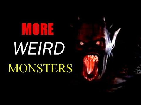 More Weird Monsters - Snow Monsters, Fire Entities, Red Eyed Hatmen and Gargoyles