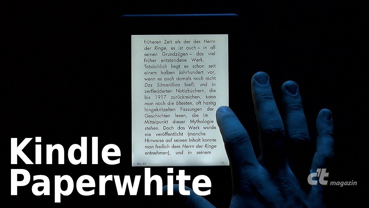Kindle Mit Beleuchtung | C T Kindle Paperwhite Mit Beleuchtung Youtube