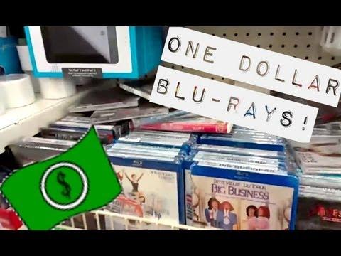 Random Vlog - $1 Blu-Rays At Dollar Tree!?! (12/20/12)
