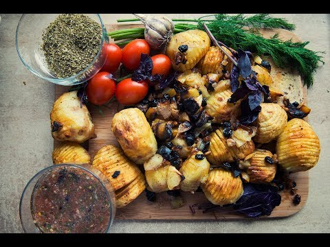 Как запечь картофель на гриле