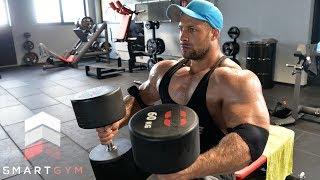 Bodybuilder im SMARTGYM. Reichen die Gewichte ?