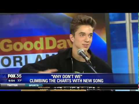 Boy Band 'Why Don't We' Performs on Fox 35 WOFL