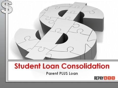 Parent PLUS Student Loan Consoliation