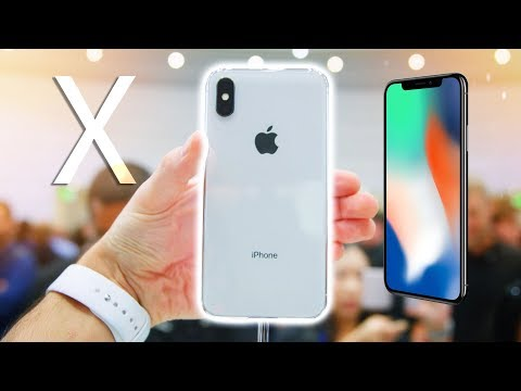 iPhone X Hands on - Everything you need to know